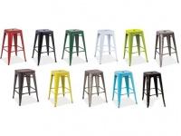 Kovové barové židle LONG