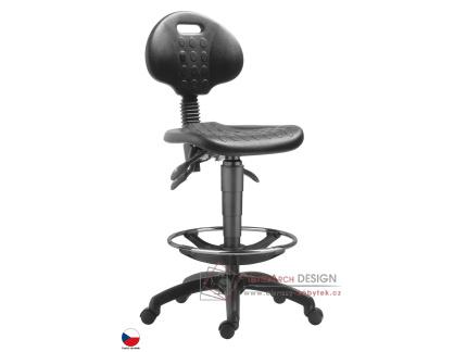Pracovní židle 1290 PU ASYN