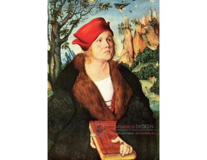 VlCR-36 Lucas Cranach - Portrét Johannese Cuspiniana