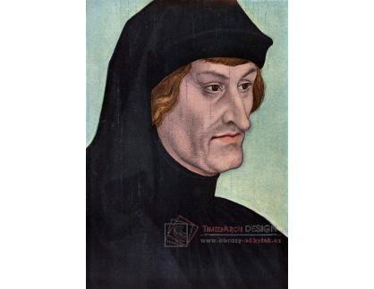 VlCR-50 Lucas Cranach - Portrét Rudolpha Agricola