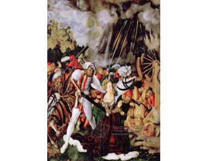 VlCR-81 Lucas Cranach - Umučení svaté Kateřiny