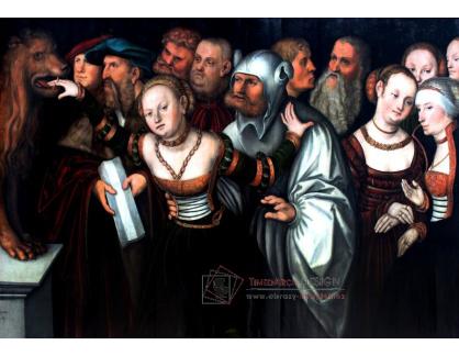 VlCR-179 Lucas Cranach - V ústech pravdy