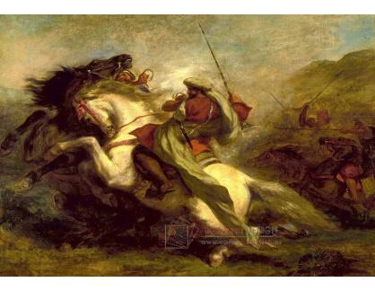 VEF 16 Eugene Ferdinand Victor Delacroix - Střetnutí maurských jezdců