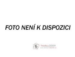 Čalouněná postel 160x200cm POTENZA ekokůže bílá