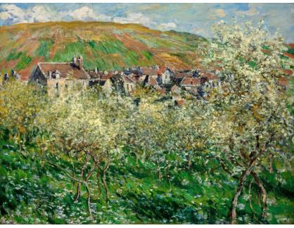 VCM 107 Claude Monet - Kvetoucí švestky