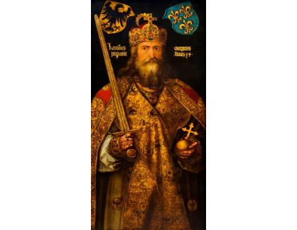 VR12-35 Albrecht Dürer - Císař Carolus Magnus