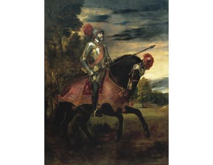 VTV22 Tizian - Portrét císaře Karla V