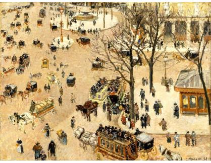 VCP-330 Camille Pissarro - Divadelní náměstí