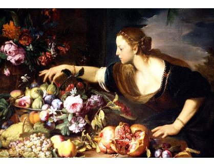 BRG-05 Abraham Brueghel - Zátiší s ovocem a květinami