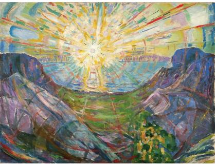 VEM13-122 Edvard Munch - Na slunci