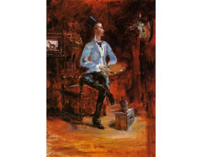 R7-102 Henri Toulose-Lautrec - Princeteau v pracovně