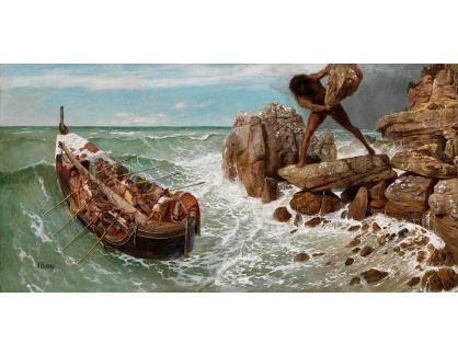 VP353 Arnold Böcklin - Odysseus a Polyphem