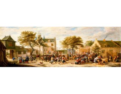 VP370 David Teniers - Vesnická veselice