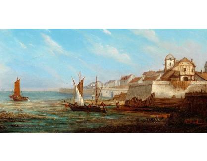 VP408 Natalie Curtis Burlin - Rybářské lodě u přístavu