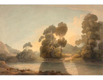 Slavné obrazy III-10 Francis Towne - Na Dee