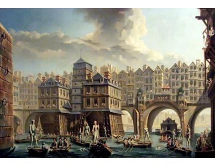 Slavné obrazy XIV-47 :Nicolas-Jean-Baptiste Raguenet - Klání námořníků