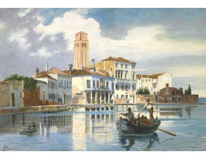 Slavné obrazy XVI-217 Antonietta Brandejs - Murano