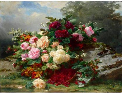 KO III-302 Neznámý autor - Zátiší s květinami
