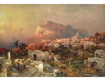 DDSO-4979 Franz Richard Unterberger - Pohled na  Capri