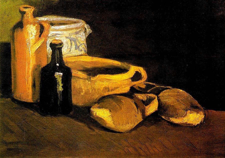 R2-1414 Vincent van Gogh - Zátiší s nádobím a dřeváky