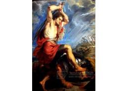 VRU05 Peter Paul Rubens - David zabíjí Goliáše