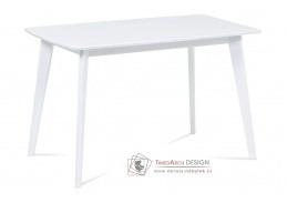 AUT-008 WT, jídelní stůl, bílá