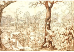 Slavné obrazy XI-90 Barend van Orley - Mimo zábavu