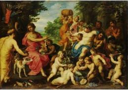 DDSO-3558 Hendrick van Balen - Bacchus a Diana