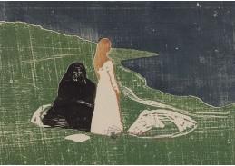 VEM13-01 Edvard Munch - Ženy na pobřeží