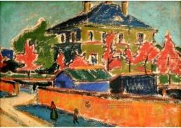 VELK 10 Ernst Ludwig Kirchner - Vila v Drážďanech