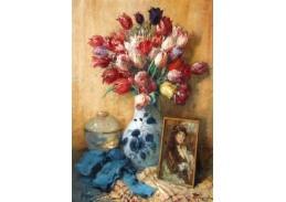Slavné obrazy XVII-57 Fernand Toussaint - Vzpomínka
