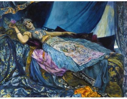 KO III-154 Georges Rochegrosse - Princezna v modrém