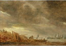 D-5911 Jan van Goyen - Bouře u přístavu