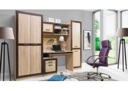 BOSS 03, obývací sestava nábytku, dub sonoma / dub čokoládový