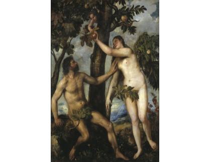 VTV23 46 Tizian - Pokušení Adama a Evy