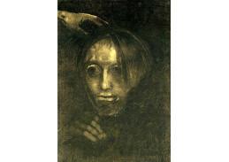 VOR 109 Odilon Redon - Muž s hlavou