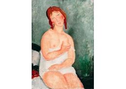 XV-109 Amedeo Modigliani - Mladá žena v košili