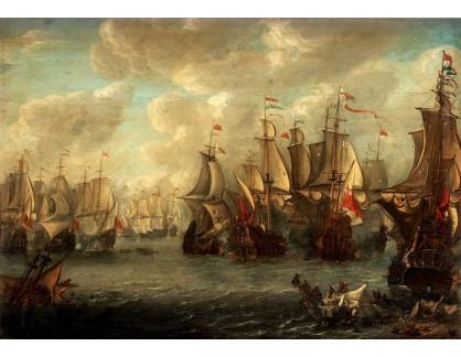VL349 Pieter van Soest - Útok na Medway