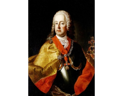 Krásné obrazy II-406 Martin van Meytens - Portrét císaře Františka I Štěpána