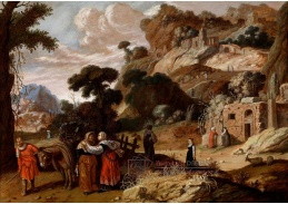 VH234 Jacob Symonsz Pynas - Ruth s Naomi cestou do Betléma