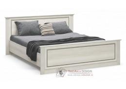 BRISTOL NEW, postel 160x200cm, jasan sněhový