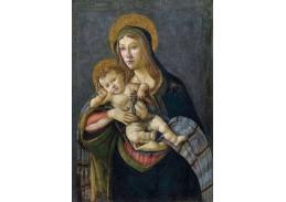 A-81 Sandro Botticelli - Madona s dítětem s trnovou korunou
