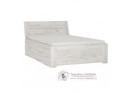 ANGEL 90, postel 90x200cm, bílá craft