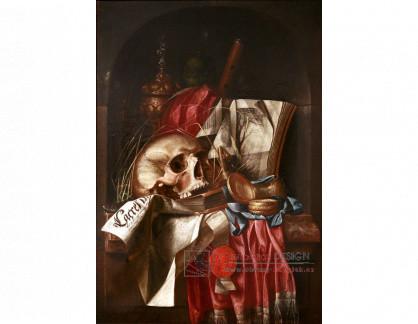 VH803 Cornelis Norbertus Gijsbrechts - Zátiší s lebkou