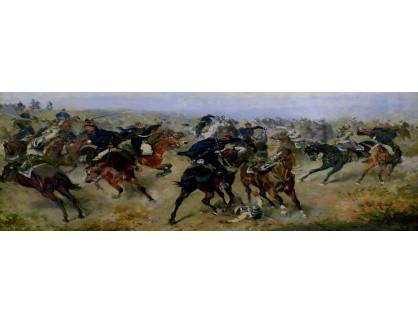 VRAK-139 Alexander von Bensa - Bitva mezi husary a kyrysníky