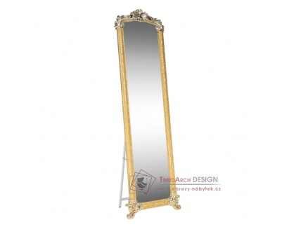 ODINE, zrcadlo stojací, zlatá