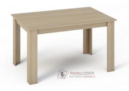 KONGO, jídelní stůl 140x80cm, dub sonoma