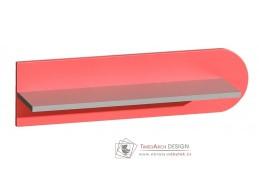 FUTURO F10, závěsná police, výběr barvy