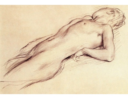VR6-3 Edgar Degas - Ležící akt