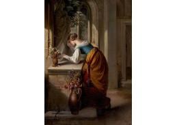XV-10 Adam Vogler - Gretchen před sochou Panny Marie